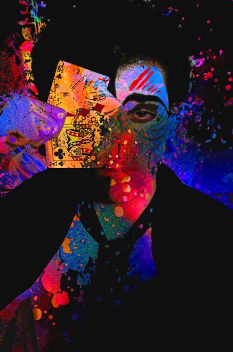 Joker Photomanipulation with Cards - HMCNEILART