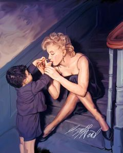 Marilyn Monroe and Boy