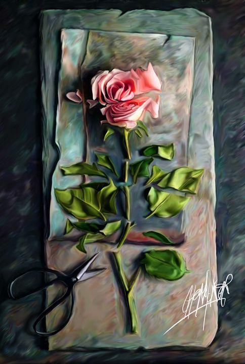 Pressed Rose - HMCNEILART