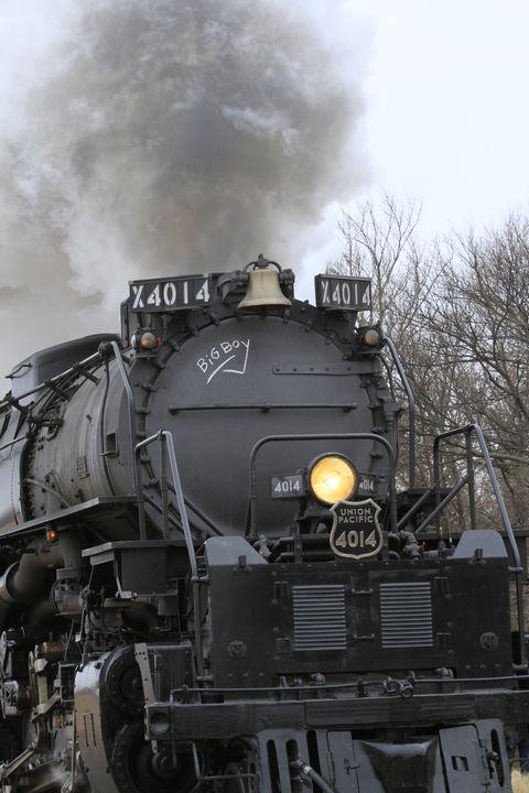 Big Boy 4014 closeup with Steam!!! - Robert D Brozek