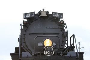 Big Boy 4014 closeup in USA