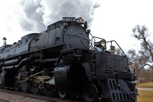 Big Boy 4014 Ellsworth Kansas