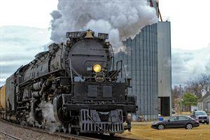 Big Boy 4014 Ellsworth Kansas USA