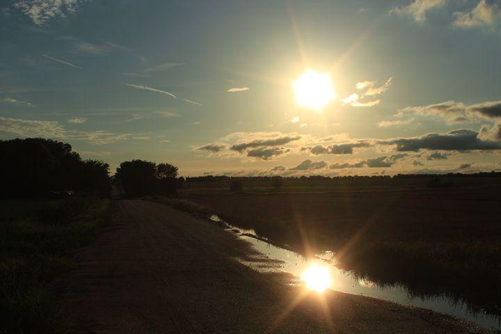 Kansas Reflection - Robert D Brozek