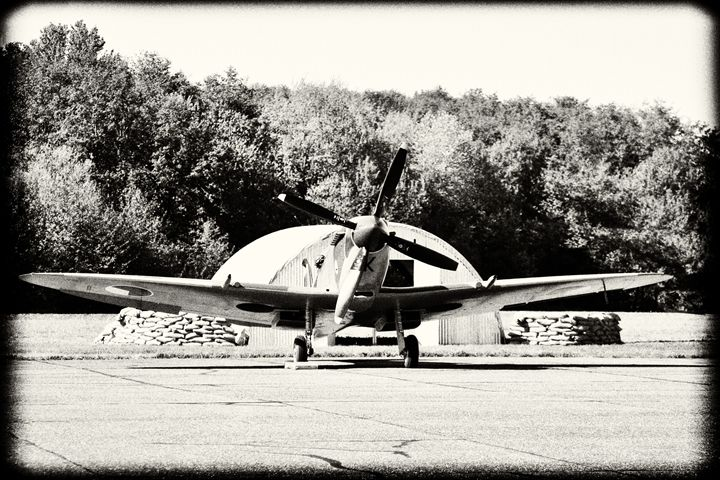 Alert and Ready - Spitfire - Fight to Fly Photography