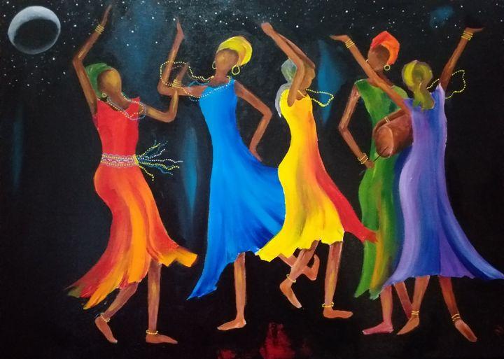 Dancing the Reel - Marietjie Henning Fine Art