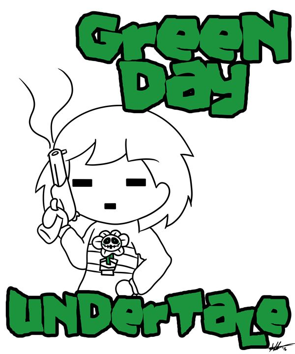 Green Day, Undertale - Watching Venus