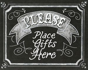 Place Gifts Here
