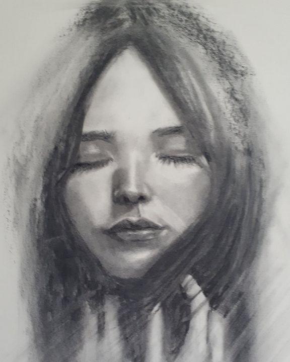Reaching My Higher Self - Art by Linda Habros