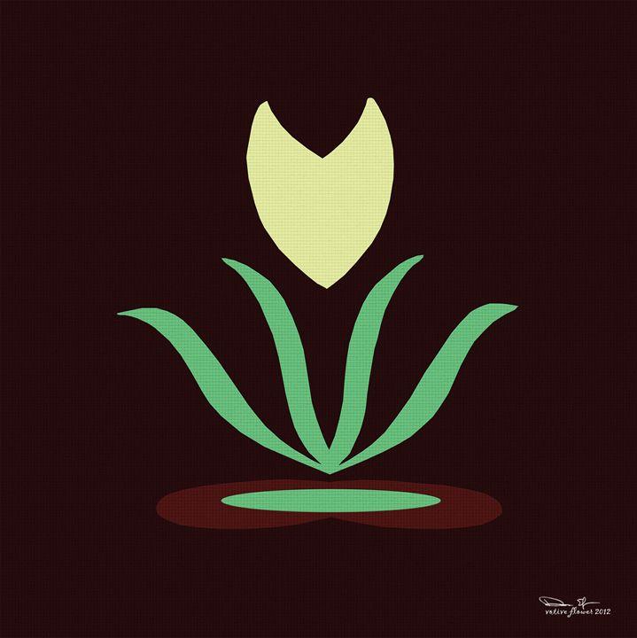 s-flower (votive flower) - dede arts