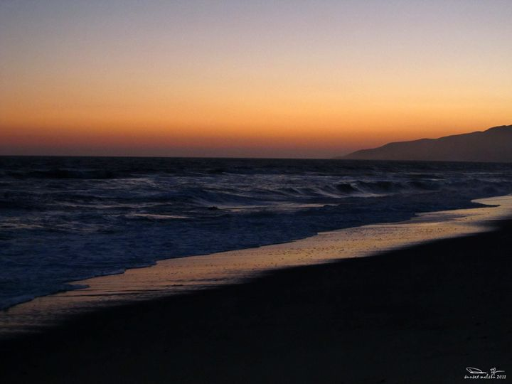sunset malibu - dede arts