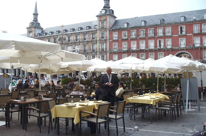Plaza Mayor- Madrid - dede arts