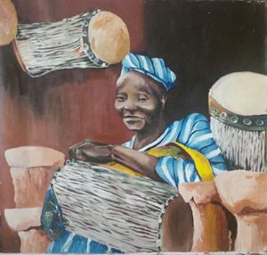 THE DRUM MAKER