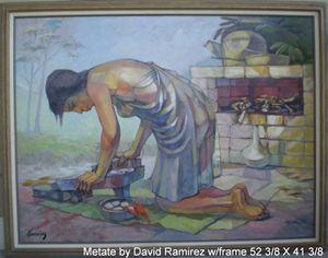 Metate by David Ramirez