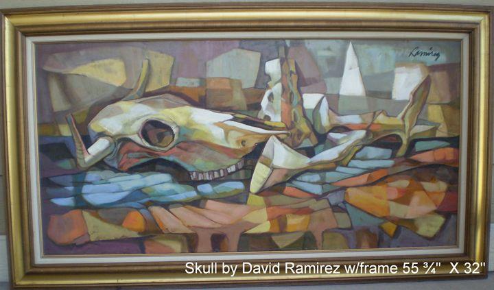 Skull - Southwest Art Originals