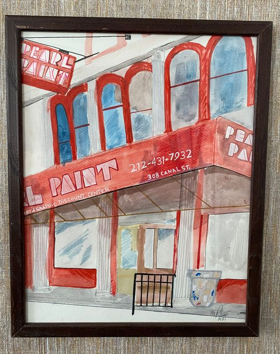 Pearl paint - Tak_art