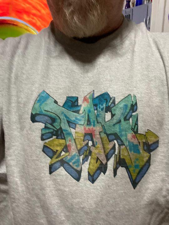Graffiti iron-on - Tak_art