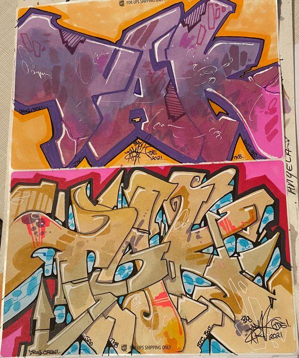 1/2 sheet stickers TAK-ART - Tak_art