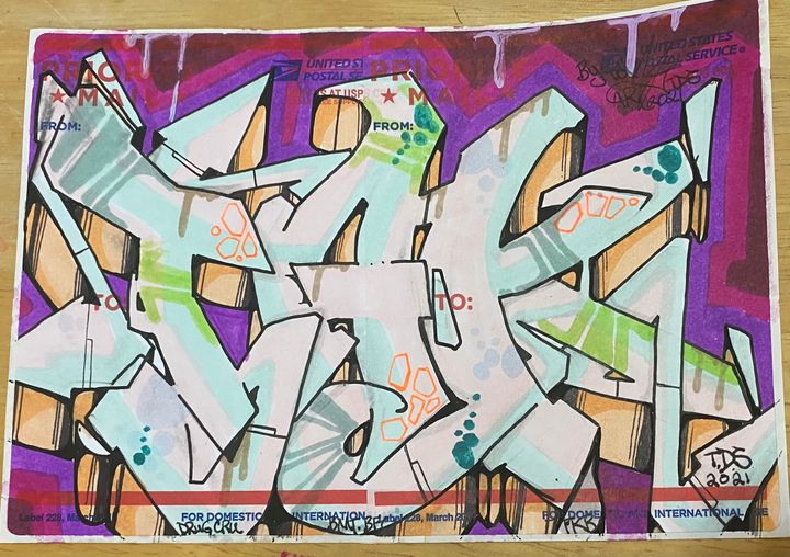 Tak-Art sticker - Tak_art