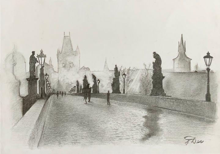 Charles Bridge Prague - Jana
