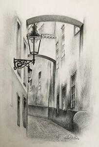 A Prague lane
