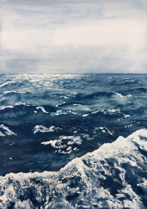 Breaking Waves - Katy Bennie