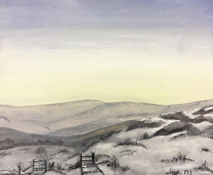 Snow on Dartmoor - Katy Bennie