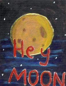Hey Moon - Jess's Art