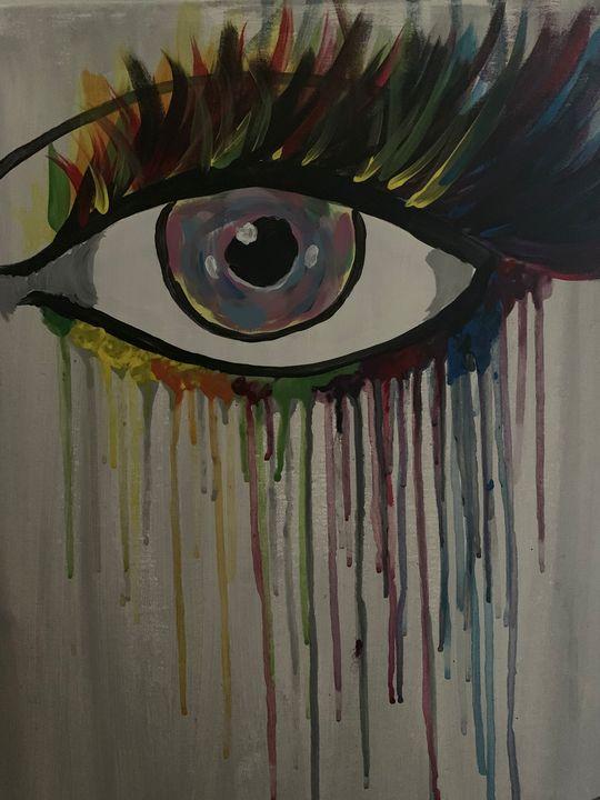 Abstract eye - Isaiah Tompkins