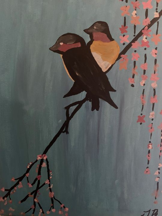 Two birds flock together - Isaiah Tompkins
