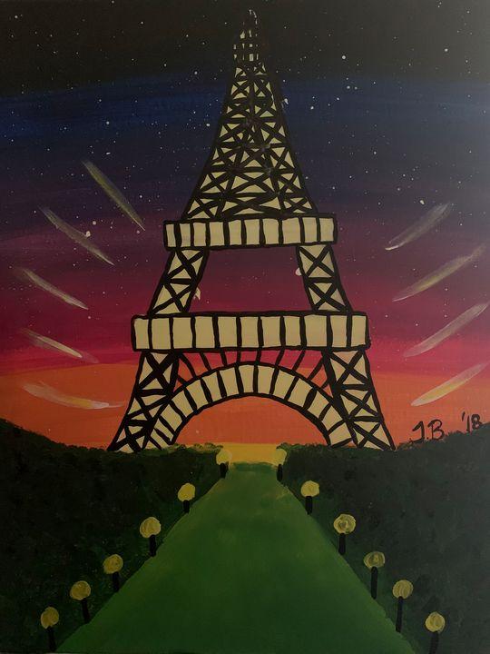 Eiffel Tower - Isaiah Tompkins
