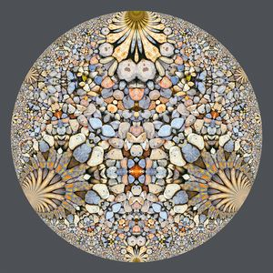 Hyperbolic Pebbles Art