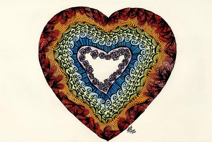 Rainbow Heart - ChloARTe
