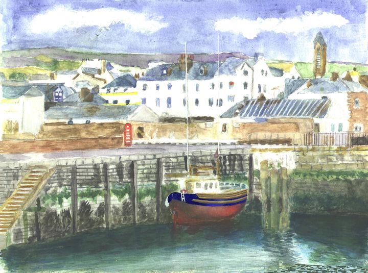 Peel Harbour Isle of Man - CreativMichelle