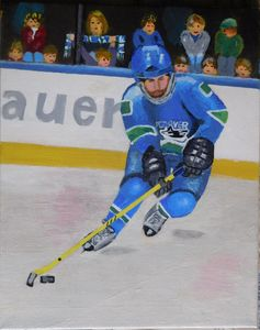 Vancouvan Ice Hockey Player