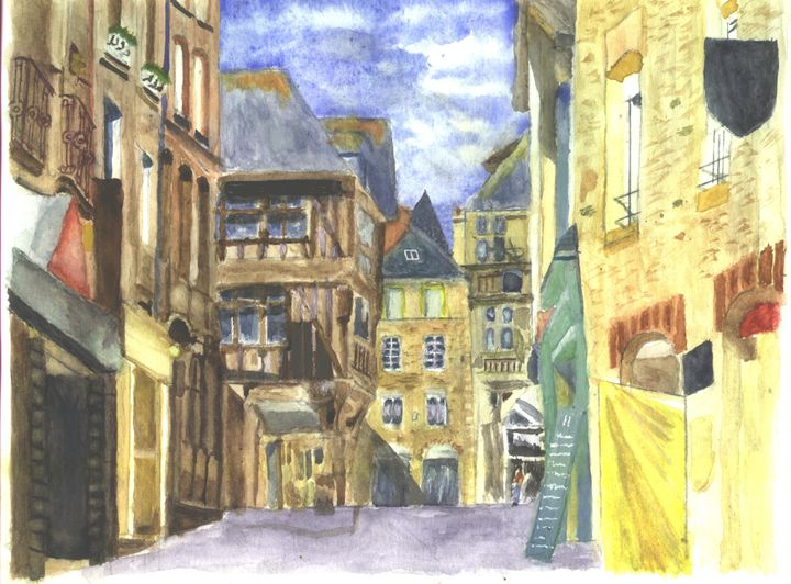 Medieval Town Dinan 2 Brittany - CreativMichelle