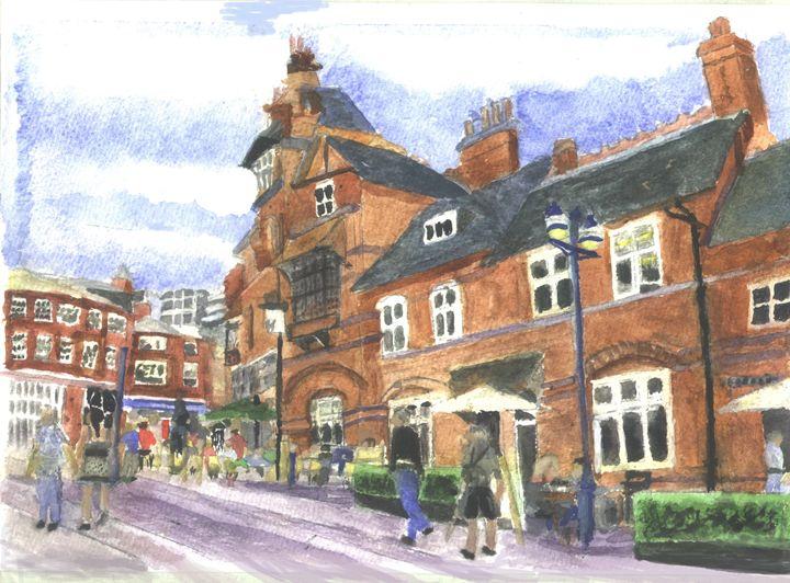 Castle Pub Nottingham - CreativMichelle