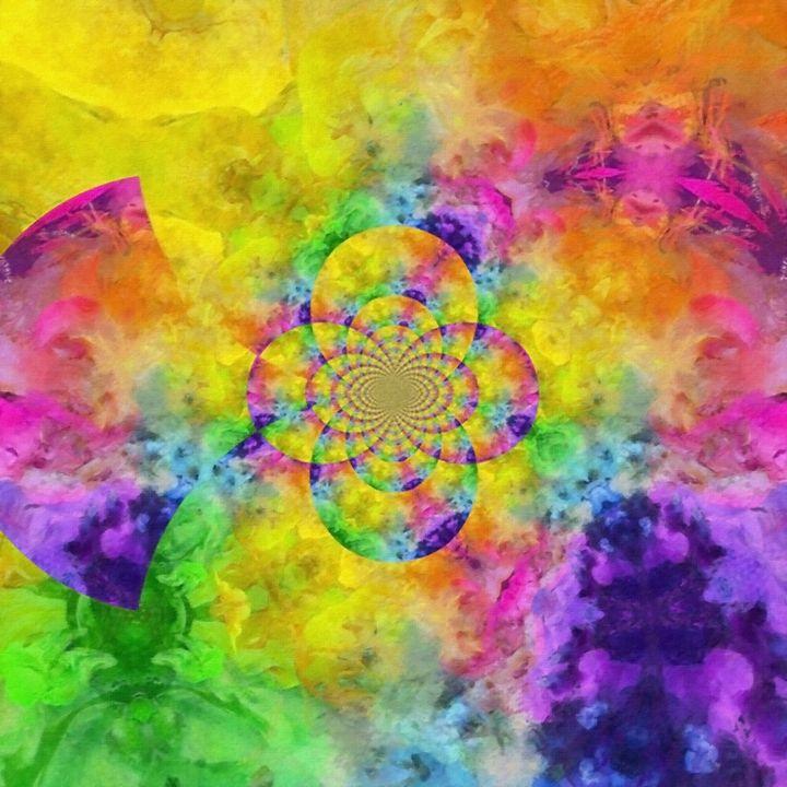 Colorful fractal - rolffimages