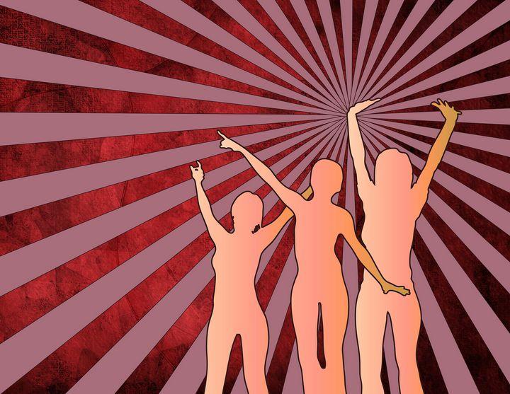 Dancing girls - rolffimages