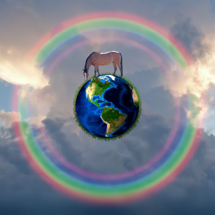 Horse on Earth - rolffimages