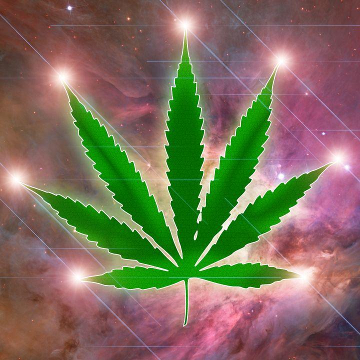 Constellation marijuana - rolffimages