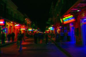 3D Bourbon Street