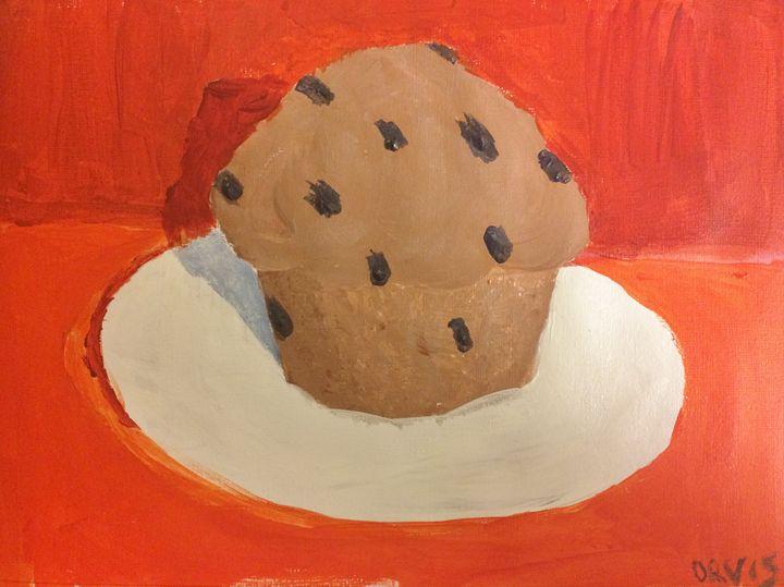 A Muffin a Day (in orange) - 5K Studios