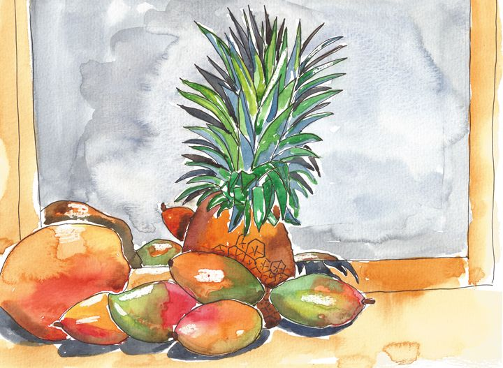 TROPICAL FRUIT - Faye Nancarrow