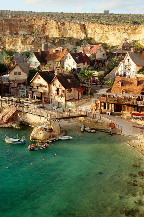 Popeye Village. Malta. - Krzysztof Bozalek.