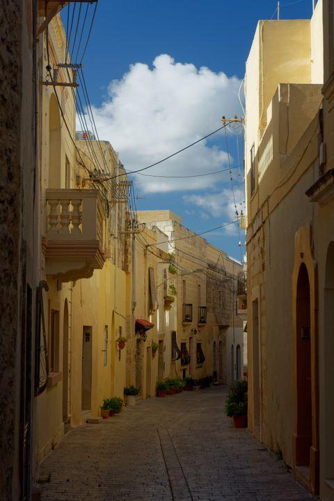 Streets of Malta. - Krzysztof Bozalek.