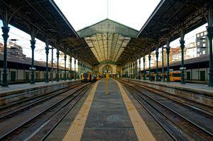 Porto Train Station.