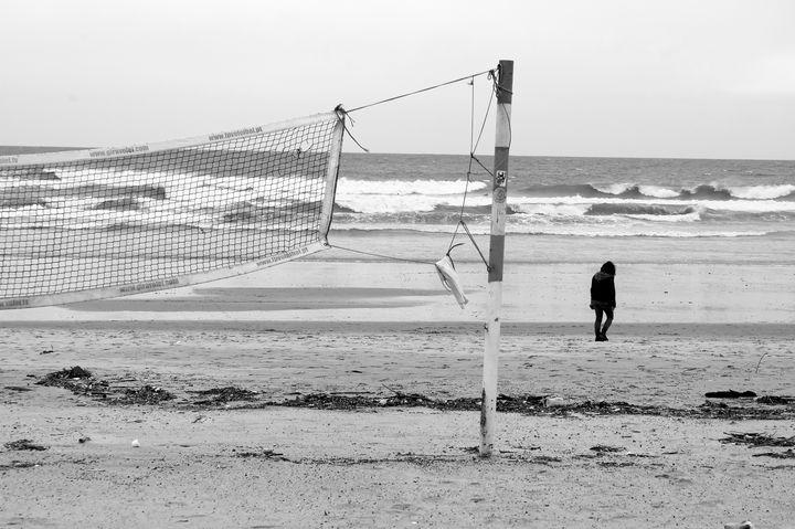 Matosinhos beach. - Krzysztof Bozalek.