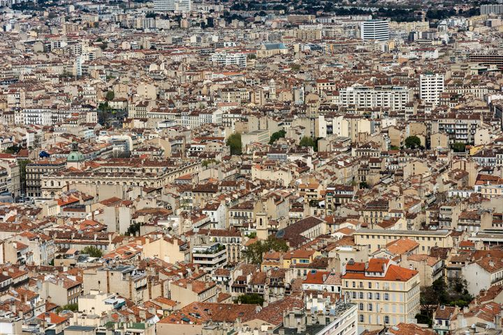 Panorama of Marseille. - Krzysztof Bozalek.