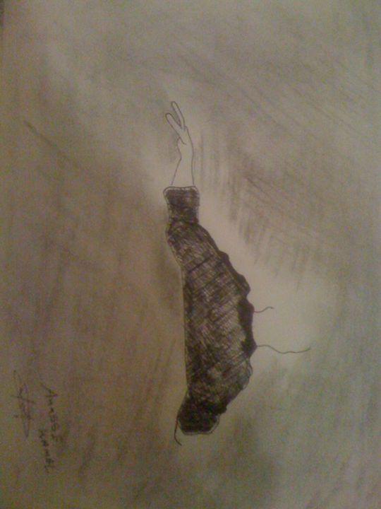 thinking - anasse's drawing